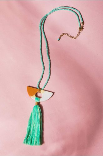Candy Tassel Necklace
