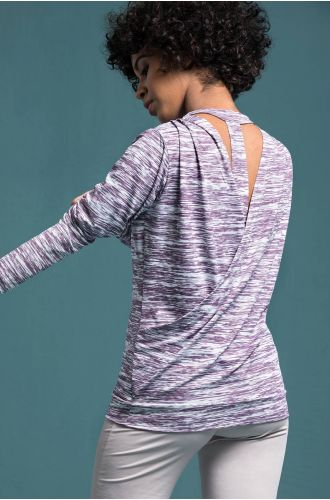 Active Draped-V Top
