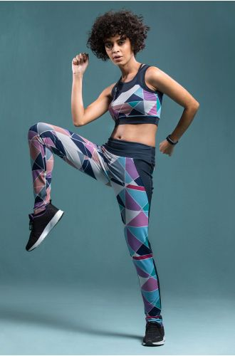 Athleisure Geometric Tights