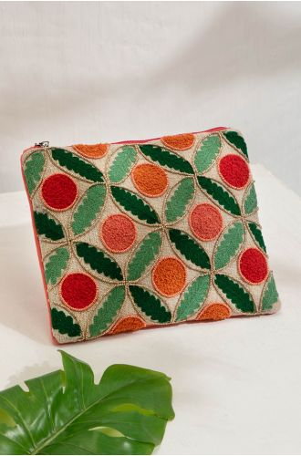 NOLITA EMBROIDERED POUCH