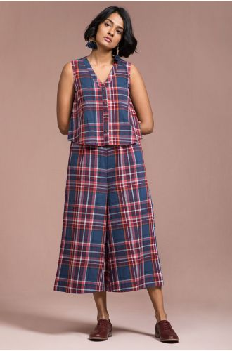 Checkered Play Jumpsuit