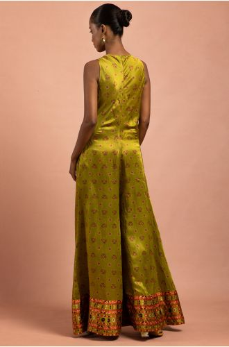CITRON GREEN JUMPSUIT
