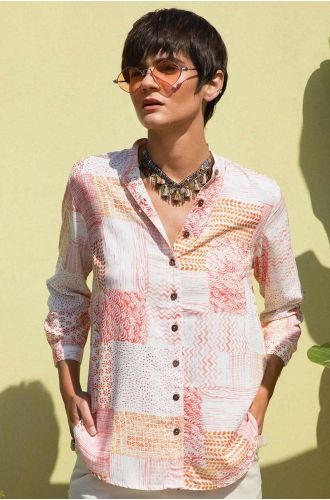 Sweet Interlock Printed Shirt