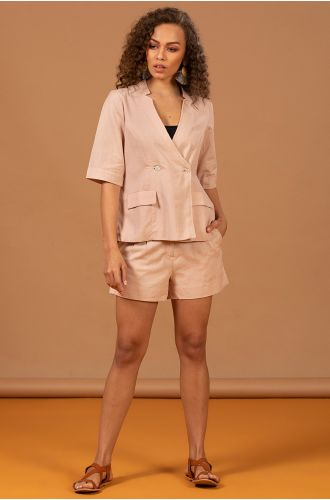 SUMMER BLUSH SUIT