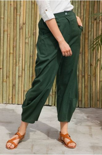 Olive Boho Bottoms