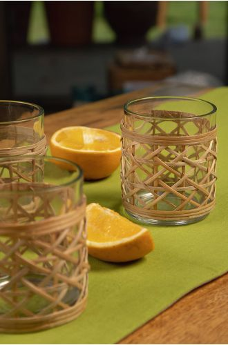 CORTINA BAMBOO DRINKING GLASS