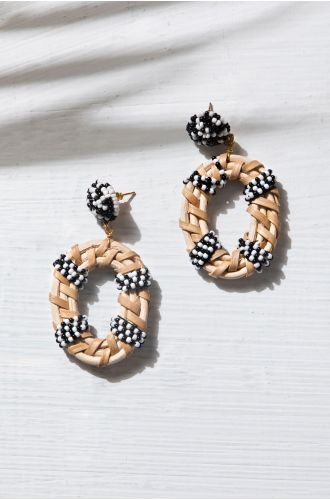Vintage Weave Earrings