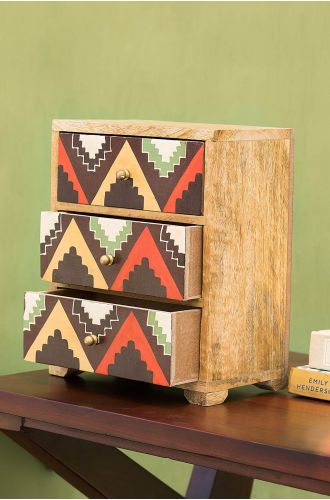 Grotto Wooden Cabinet
