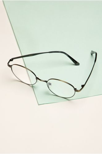Smart-Alecky Clear Glasses