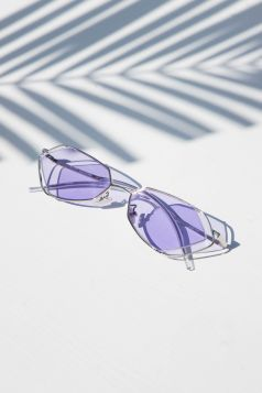 Avant-Garde Purple Sunglasses