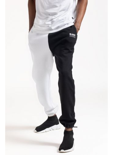 ABG Black-White Two-Tone BEING MY SELF Jogger