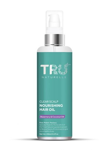 Tru Naturelle Clear Scalp Anti Dandruff Hair Oil