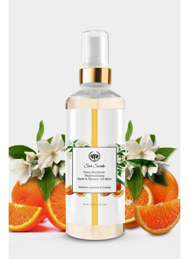 Seer Secrets Sedative Jasmine & Orange Deep Moisture Bath Oil