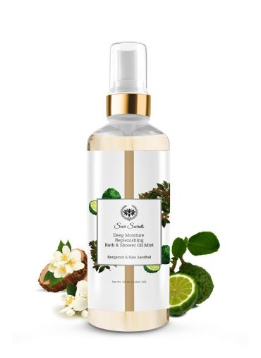Seer Secrets Bergamot & Raw Sandhal Bath Oil