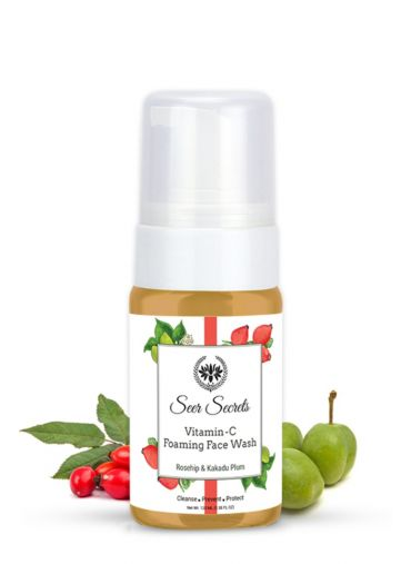 Seer Secrets Rosehip and Kakadu Plum Foaming Face Wash