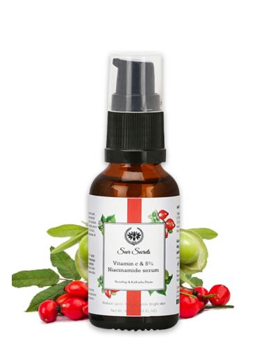 Seer Secrets Rosehip And Kakadu Plum Serum - For Glowing Skin