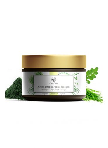 Seer Secrets Wheatgrass, Spirulina & Moringa Green Intense Repair Masque