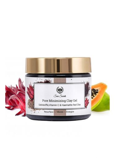 Seer Secrets Sabdarifa Red Clay Mask- Treatment for Dark Spots