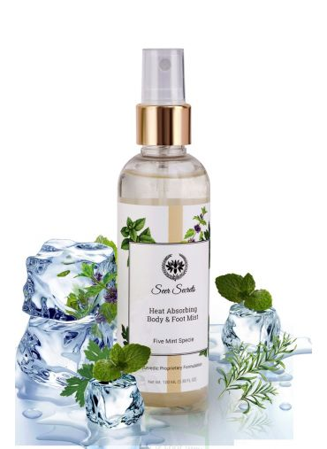 Seer Secrets Five Mint Specie Heat Absorbing Body & Foot Mist