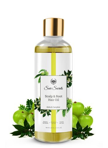 Seer Secrets Scalp & Root Hair Oil (Amla & Camphor)