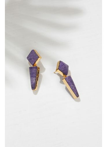 River Lilac Earing