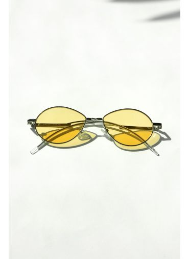 Creamy gold sunglasses