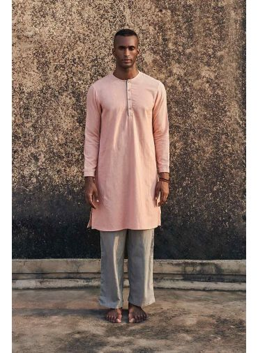 SUNDRIED PEACH KURTA SET