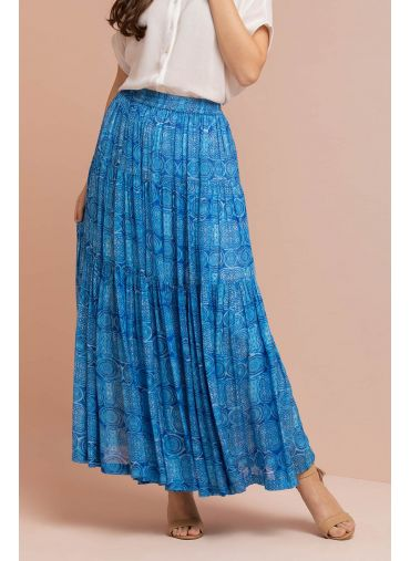 Turquoise Trance Skirt