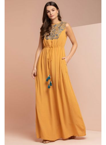 Birds Of Passage Maxi Dress