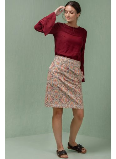 Triangular Truise Skirt