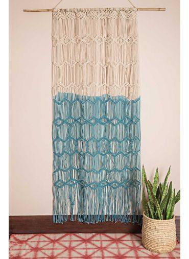 Weaved Hexagon Wall Hanging