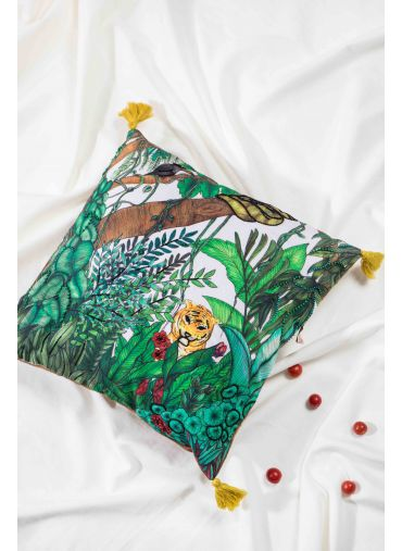 Tiger Treasure Cushion Cover