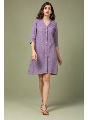 Lavender Song Dress