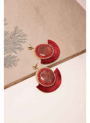 Marsala Magic Earrings