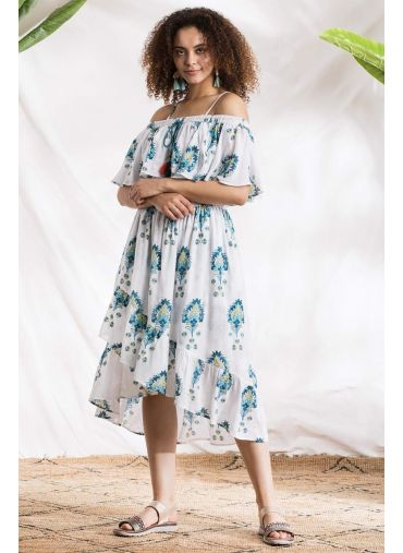 Majestic Waves Dress