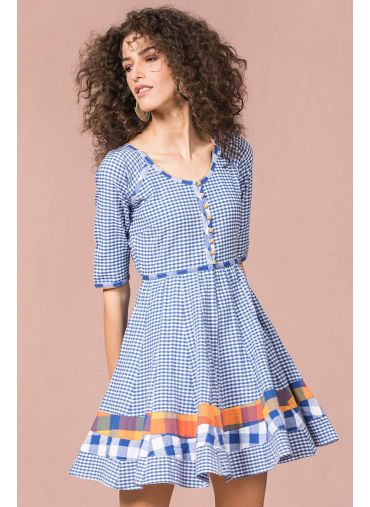 Mini Gingham Play Dress