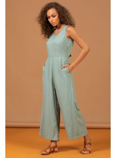 BLUE BELLE JUMPSUIT