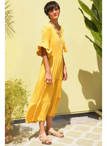 Little Miss Sunshine Maxi Dress