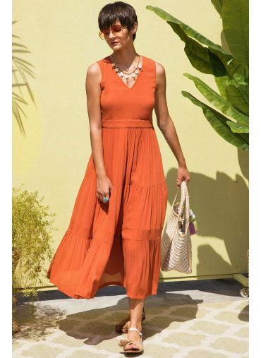 Whiz And Whirl Maxi Dress