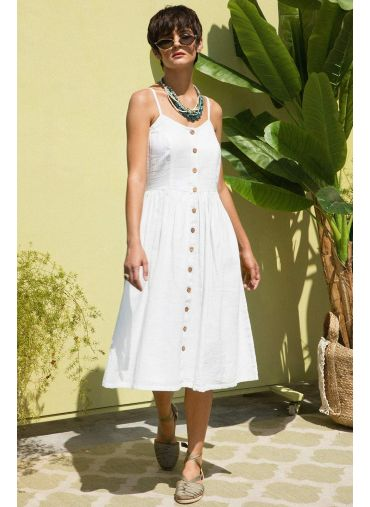 Summer Solstice Midi Dress