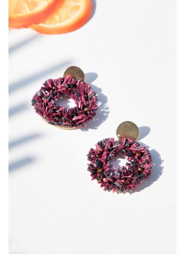 Peri winkle Earrings