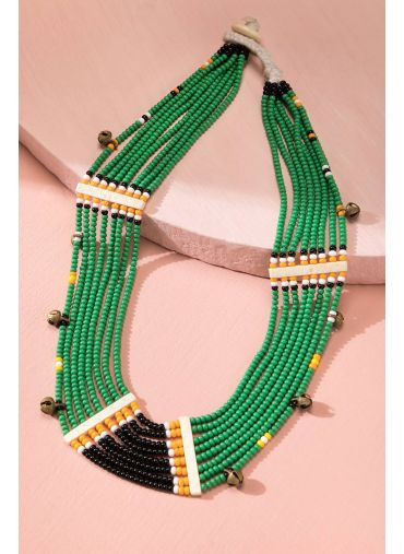 GREENBRIAR TRIBAL NECKLACE