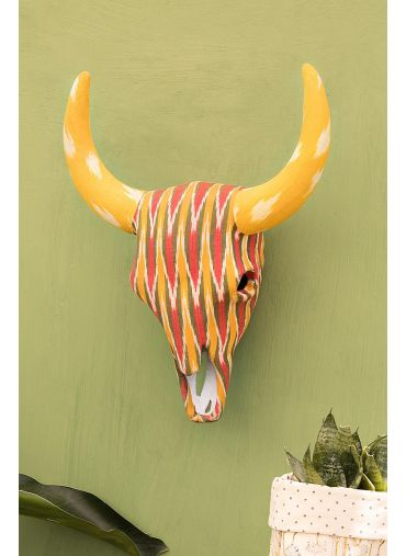 Olaf Bull Ikat Wall Decor