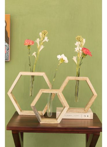 Honeycomb Planters Set