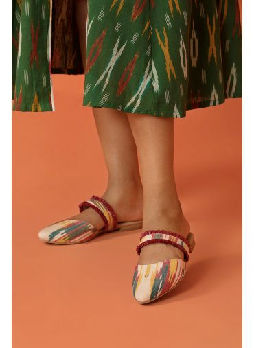 Outlandish Ikat Mules