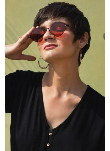 Ruby Red Sunglasses