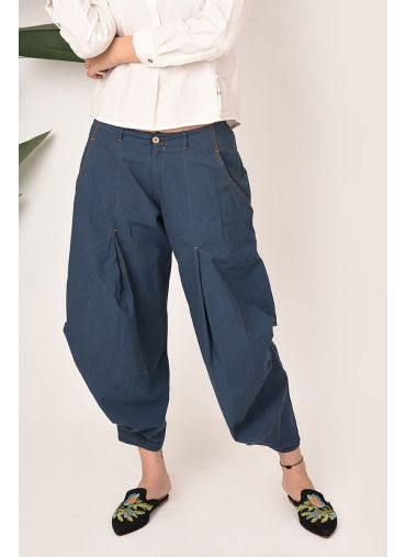 Indigo dip Boho Bottoms