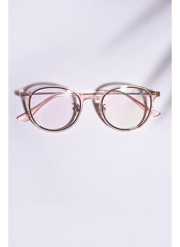 Peach Framed Spectacles