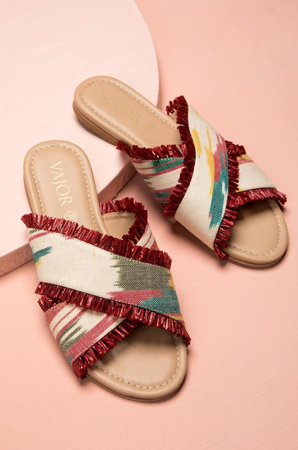 Code Red Ikat Sandals