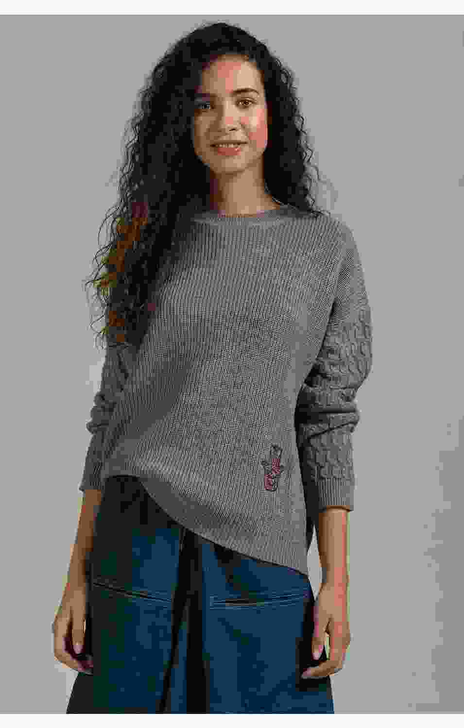Hefty Tangle Pullover